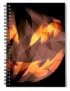 Halloween Moon Spiral Notebook