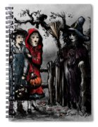 Halloween Night Spiral Notebook