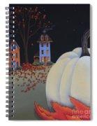 Halloween On Pumpkin Hill Spiral Notebook