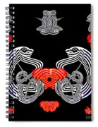 Halloween Party By Jammer Spiral Notebook