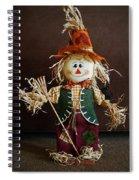 Halloween Scarecrow Spiral Notebook