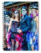 Halloween Team Spiral Notebook