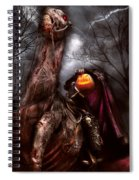 Halloween - The Headless Horseman Spiral Notebook