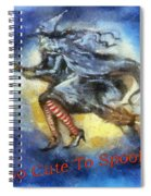 Halloween Too Cute To Spook Spiral Notebook