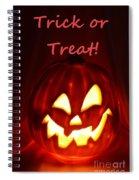 Halloween Trick Or Treat Spiral Notebook
