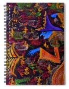 Halloween Witch Spiral Notebook