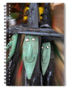 Halloween Witch Way Is The Candy Spiral Notebook