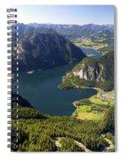 Hallstatt Lake Austria Spiral Notebook