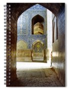 Hallway At Sheik-lotfollah Mosque Spiral Notebook