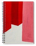 Hallway Red Spiral Notebook