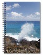 Halona Blowhole Spiral Notebook