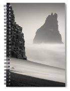 Halsenifs Hellir Sea Stack Spiral Notebook
