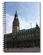 Hamburg - City Hall - Germany Spiral Notebook