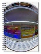 10387 Hamburg U1 Luebecker Strasse Spiral Notebook