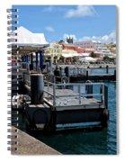 Hamilton Dock Spiral Notebook