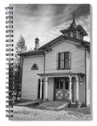 Hamilton House Garden House Spiral Notebook