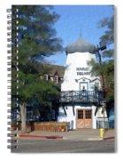 Hamlet Square Solvang California Spiral Notebook