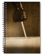 Hammer And A Nail Spiral Notebook