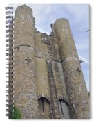 Hammond Castle Detail II Spiral Notebook
