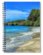 Hamoa Beach At Hana Maui Spiral Notebook