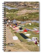 Hampi Bathing Ghats Spiral Notebook