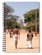 Hampi Bazzar Street Scenes Spiral Notebook