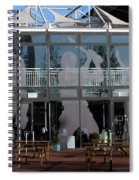 Hampshire County Cricket Glass Pavilion Spiral Notebook