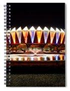 Hampton Coliseum Christmas Spiral Notebook