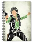 Han Solo From Star Wars Spiral Notebook
