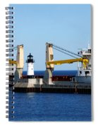 Han Xin Ship Spiral Notebook