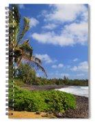 Hana Beach Spiral Notebook