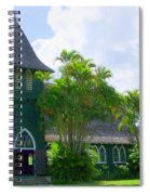 Hanalei Church Spiral Notebook