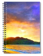Hanalei Sunset Spiral Notebook