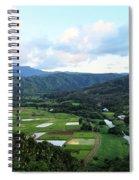 Hanalei Valley Spiral Notebook