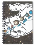 Hand Full Of Carbon Spiral Notebook