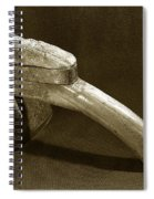 Hand Hoe Spiral Notebook