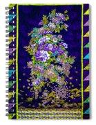 Hand Made Quilt Spiral Notebook
