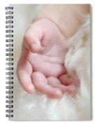 Hand Of An Angel Spiral Notebook