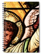 Hand Of The Angel Spiral Notebook