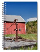 Hand Pump Spiral Notebook