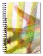Hand Shake Spiral Notebook