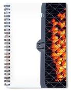 Hand Stop Signal Spiral Notebook