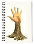 Hand Tree Spiral Notebook