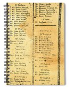Handbill: Casualties, 1775 Spiral Notebook