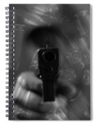 Handgun And Ammunition Spiral Notebook