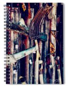 Handles And The Pitchfork Spiral Notebook