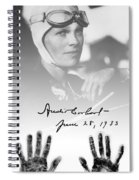 Hands Of Amelia Spiral Notebook