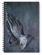Hands Of An Apostle 1508 Spiral Notebook