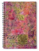 Hands Of Fatima With Crescent Moon And Stars Spiral Notebook