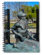 Hands Of Sorrow Spiral Notebook